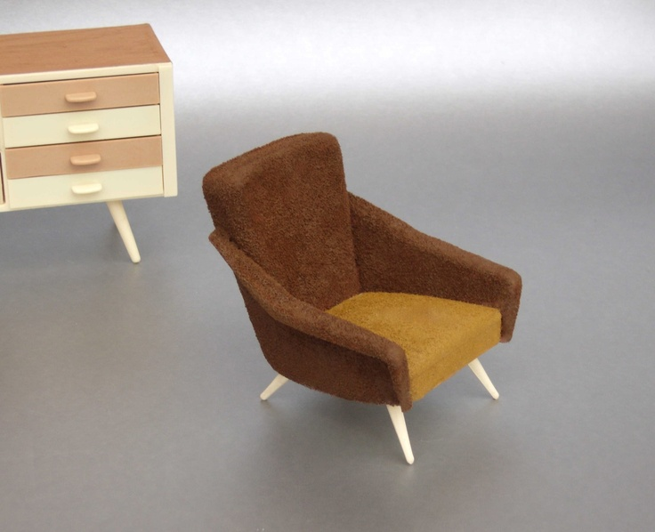 81 Best Retro Vintage Dollhouse Chairs Images On Pinterest