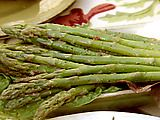 This Marinated Asparagus salad is so good .....I always double the recipe as it goes so quickly!