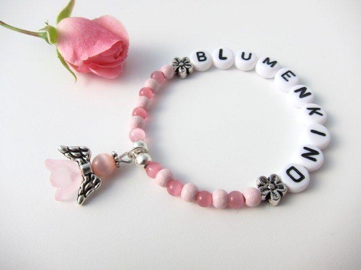 """Armband """"Blumenkind"""" für Hochzeit von KleineSchatztruhe auf DaWanda.com"""