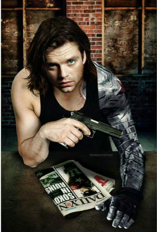 @HVoltage Bucky Barnes - Sebastian Stan - Winter Soldier …