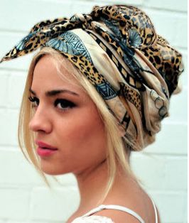 Make a fashion statement with a Headwrap this weekend.