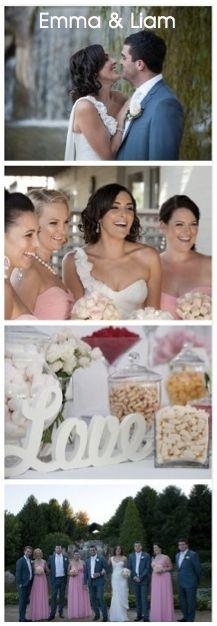 Click to see: Emma & Liam's Glamorous Garden Wedding. http://www.perfectdayweddings.com.au/real-weddings/emma-liam
