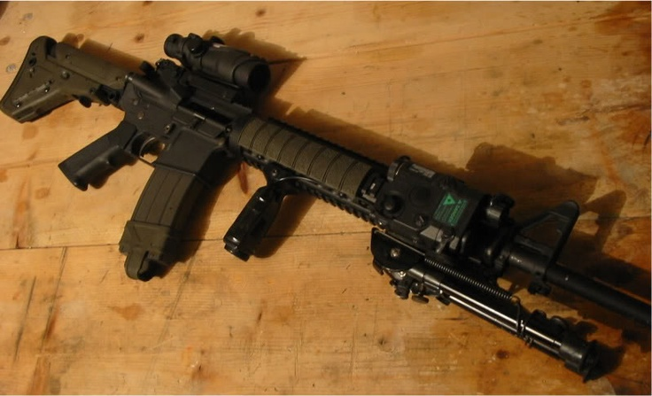 I would love to have an M16A4. God bless America and the 2nd Amendment.