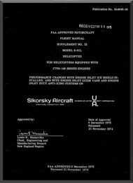 Sikorsky S-61 L  Helicopter Flight Manual Supplement , 197
