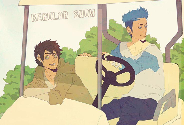 TOPecai and Rigby cartn by animegirl000.deviantart.com on @deviantART