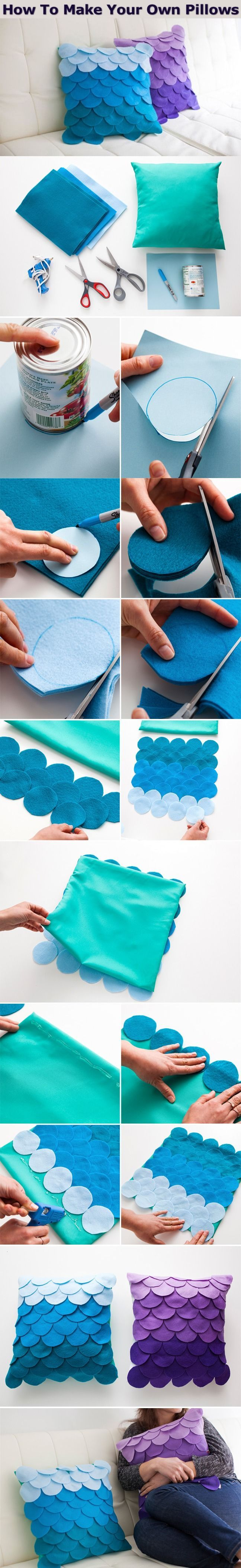 How To Make Your Own Pillows Pictures, Photos, and Images for Facebook, Tumblr, Pinterest, and Twitter