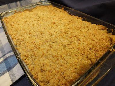 A cozinha do Titó: Crumble de castanhas e pera rocha