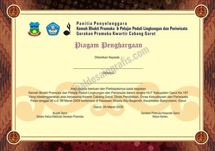contoh sertifikat pramuka 02