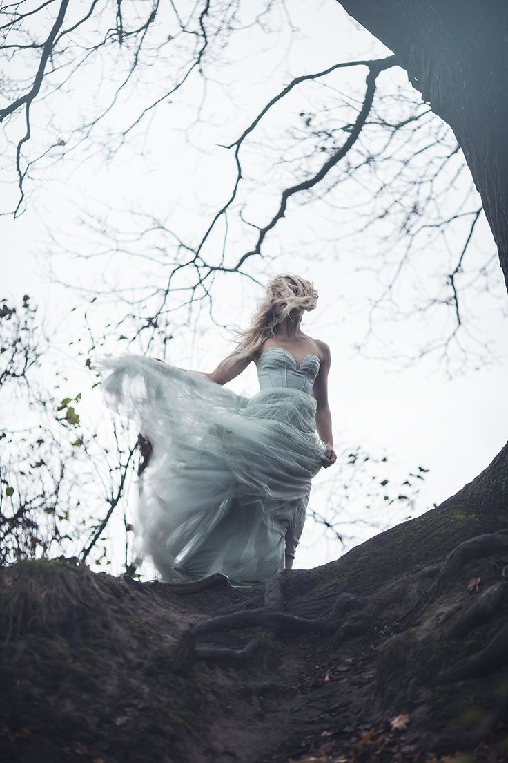 """All lies on me"" (c) Minna Kaita Photo #photography #mood #drama #dress #fantasy #forest"