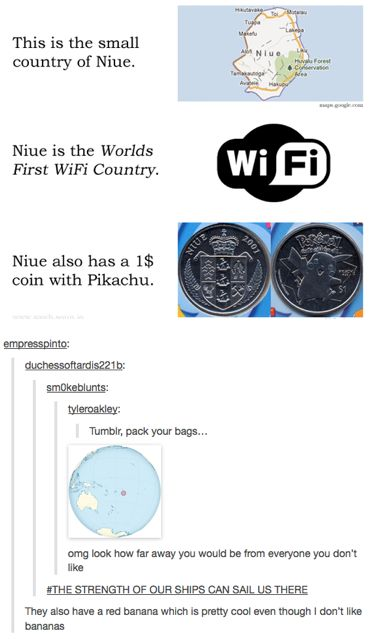 Niue --the strengths of our ships! Dieing!!!!