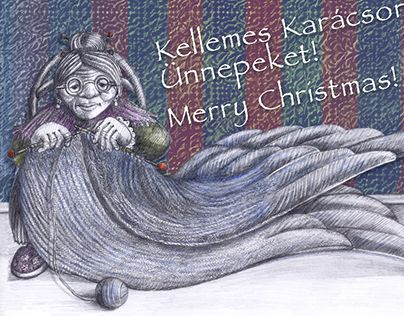 """Check out new work on my @Behance portfolio: """"Christmas card (2015)"""" http://be.net/gallery/32340063/Christmas-card-(2015)"""