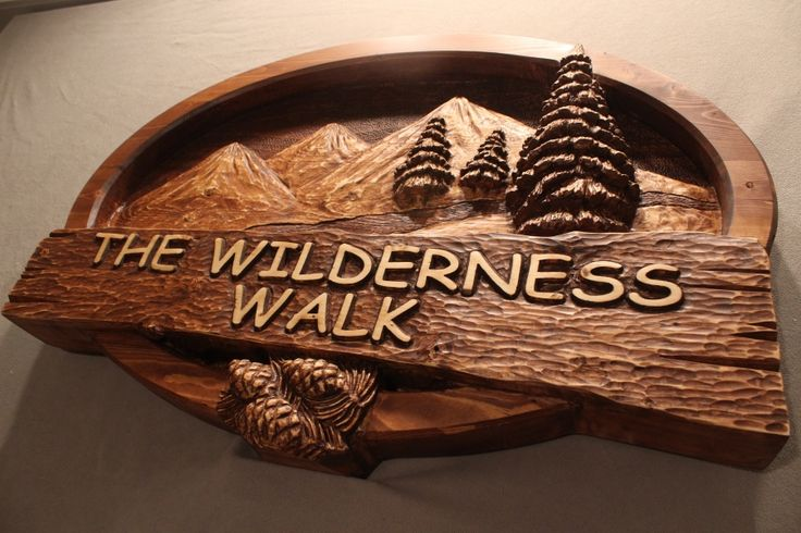 Hand Carved Custom Wood Signs By Lazy River Studio We