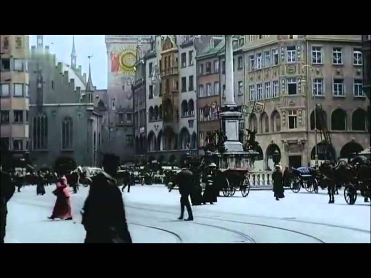 Berlin 1900 (in colour!) very good! End part in 1914, as per comment thread in video.