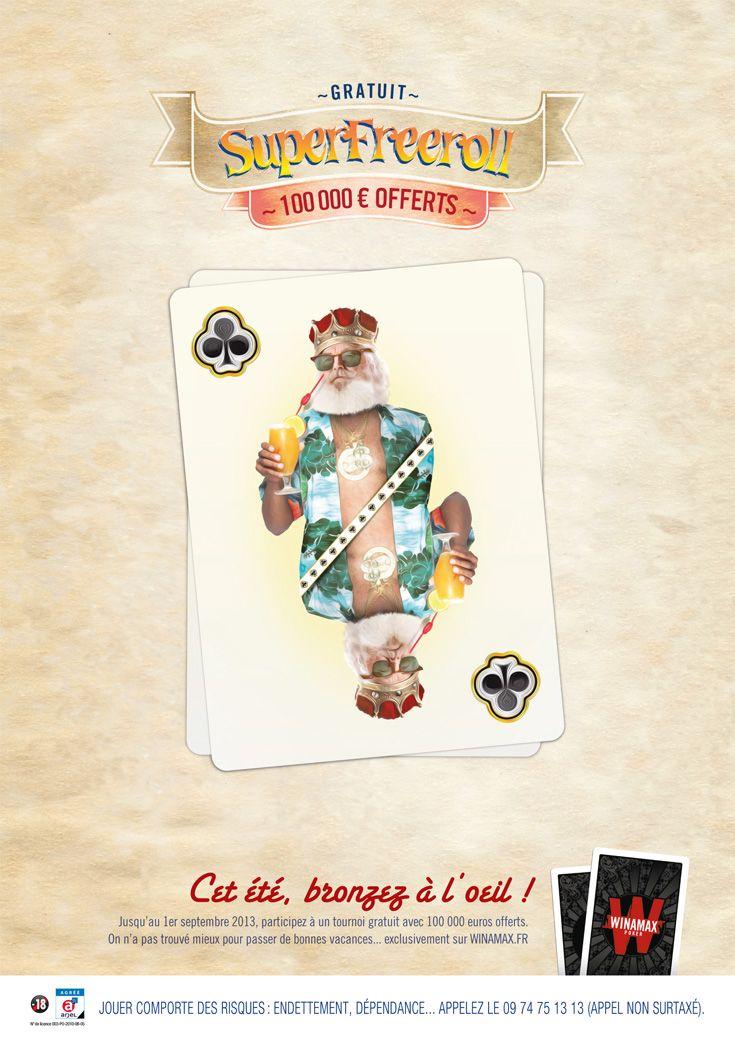 Du 24 juin au 8 septembre 2013, #Winamax vous offre un tournoi estival exceptionnel, entièrement gratuit, avec 100 000 € de prix. #poker