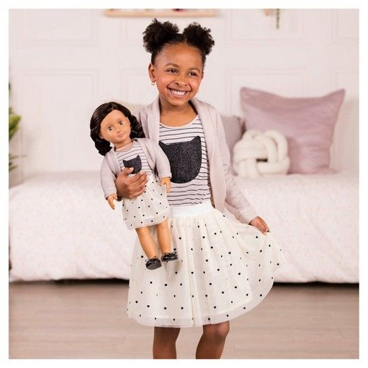 ATTENTION : Wash doll clothing separately, colors may run. <br>The small outfit is for the OG dolls and for ages 3 yrs.+.