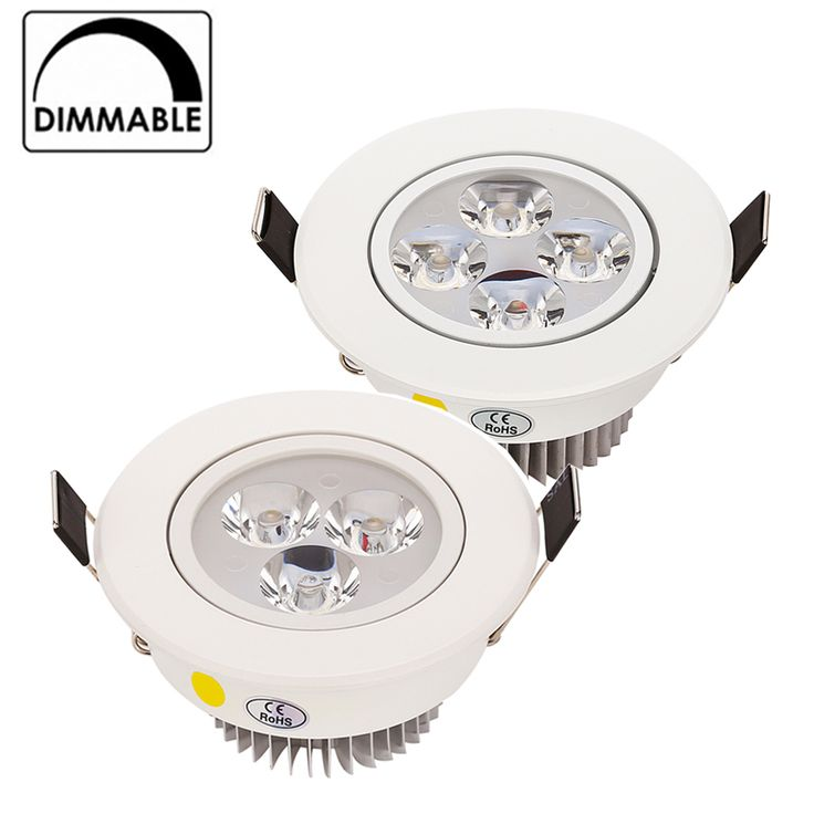 Beautiful Hot Sale CREE W W LED Downlight Dimmable Warm White Nature White Pure White Recessed LED