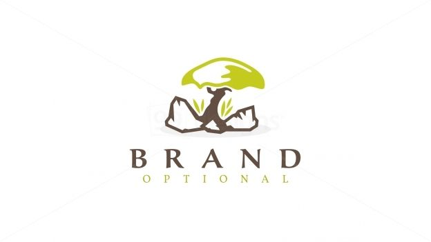 Logo design for sale only at http://99designs.com/logo-design/store/65555 Tags: #simple #green #plant #Tree #nature #minimalistic #elegant #leaf #Life #brown #rock #japan #iconic #stone #grow #soil #Garden #Grass #alone #concept #rocky #theme #bonsai #mushroom #trunk #lone #logo