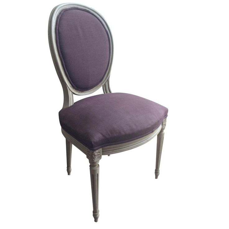 Louis XVI Antique Round Back Dining Chairs S 4