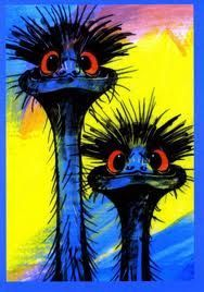 emu paintings - Google Search: