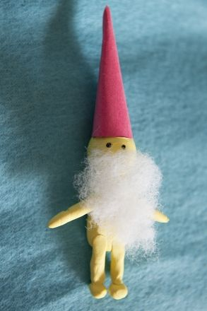 This Christmas gnome hails from Scandinavia. A Christmas gnome, also known as a nisse, gives gifts on Christmas.