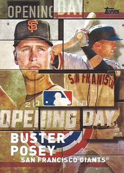 2018 Topps - MLB Opening Day #OD-13 Buster Posey Front