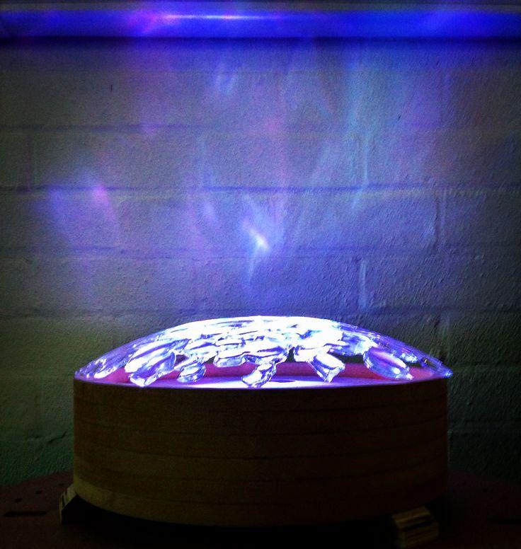 Mood lamp - A collaboration between Harriet Whittaker and Houda Kaddouh