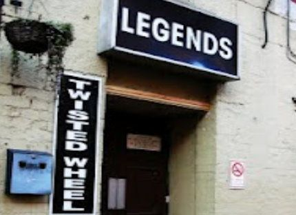 Save the the Twisted Wheel / Legends Club