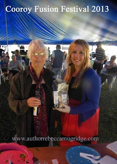 The winner of the fantastic pack by NUTWORKS - edible sunshine coast event, Cooroy Fusion Festival