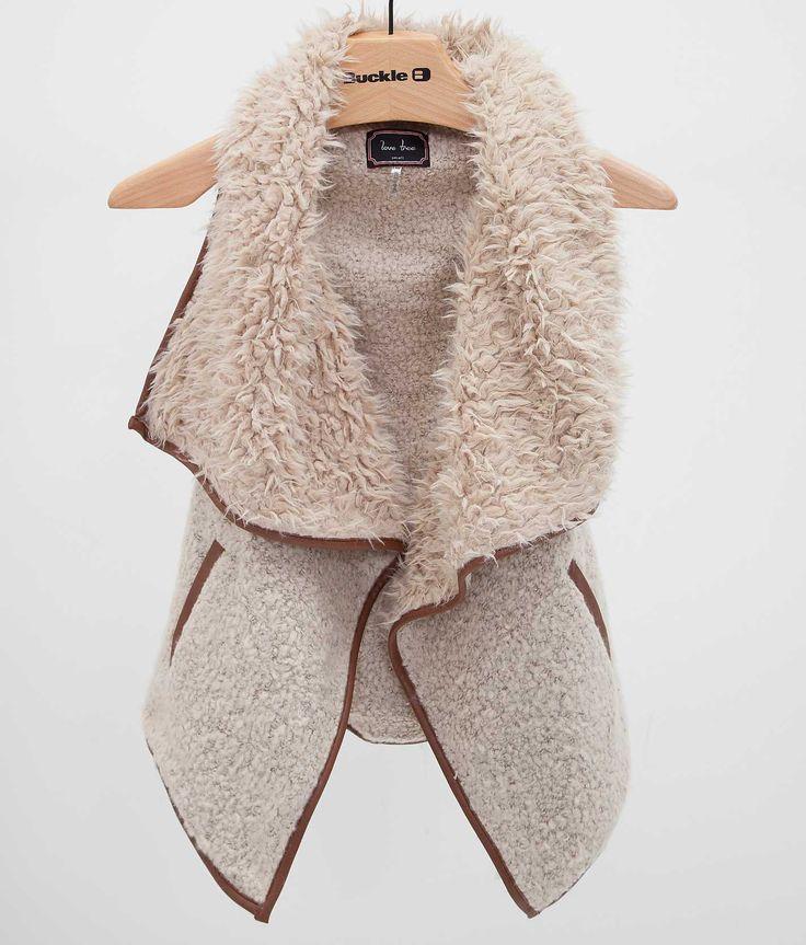 Love Tree Faux Fur Vest - Women's Vests | Buckle