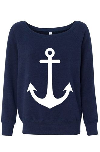 anchor sweatshirt! Love love love