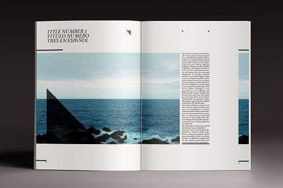 Elegant Magazine by Luuqas Design on @creativemarket