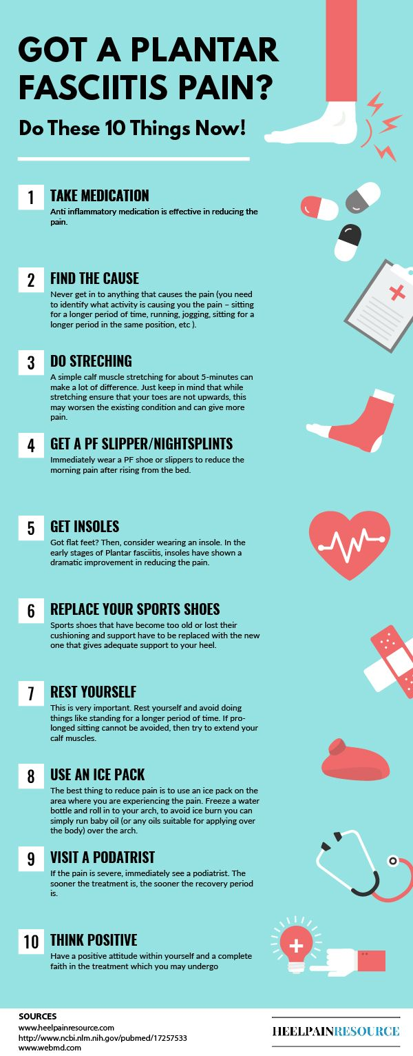 10 things to do when you are suffering from plantar fasciitis pain... Source: www.heelpainresou...