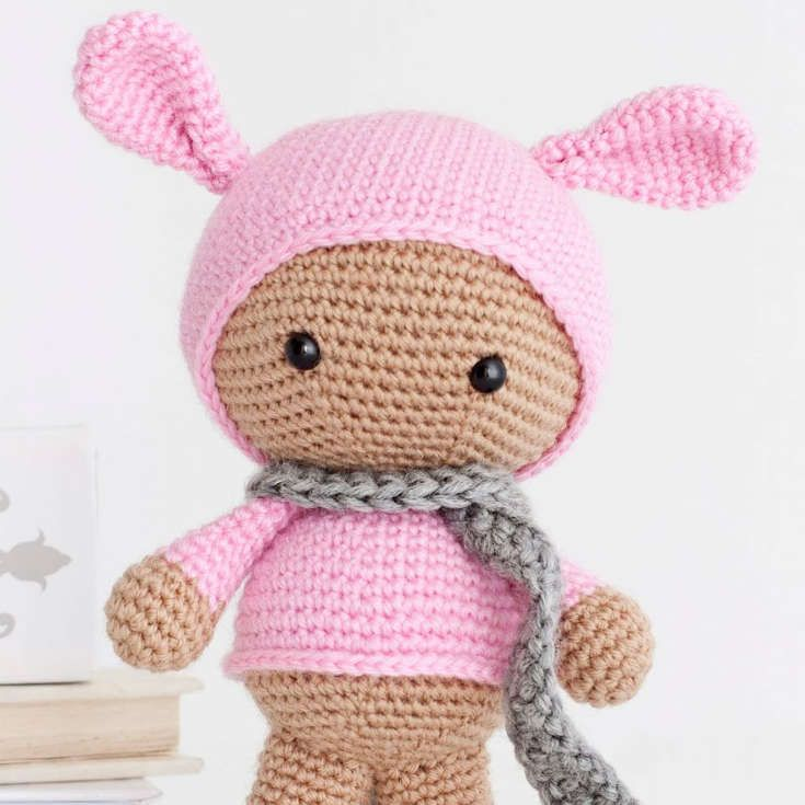 Free Amigurumi Rabbit : Http wixxl bunny hoodie amigurumi pattern