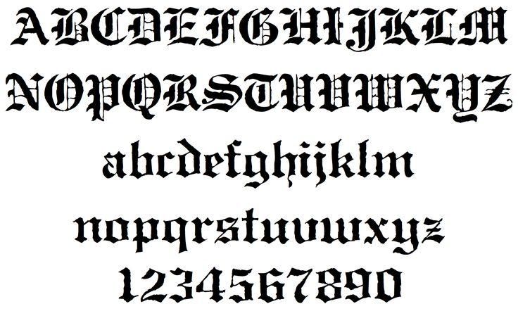 Antique 1478 888 Letters Blackletter