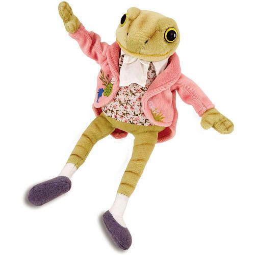 7 inch Jeremy Fisher Frog Plush from Beatrix Potter. FAO Schwartz. $11.99