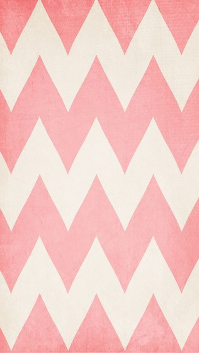 Pink Chevron iPhone Wallpaper