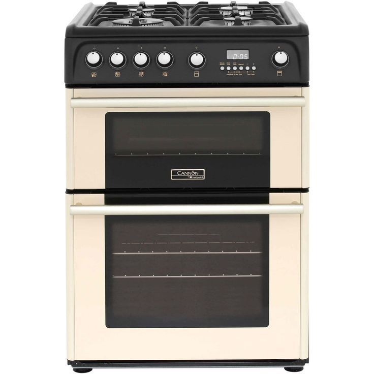 Built In Cookers Part - 23: Cannon CH60GPCF Gas Cooker With Variable Gas Grill - Cream