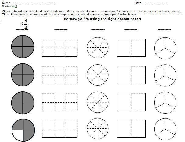 51 Math Worksheets On Fractions Grade 5 Grade 5 Math Worksheets Math Worksheets Math Fractions
