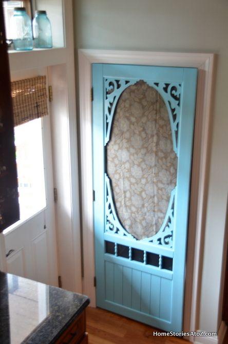 pantry screen door...this would be fun.