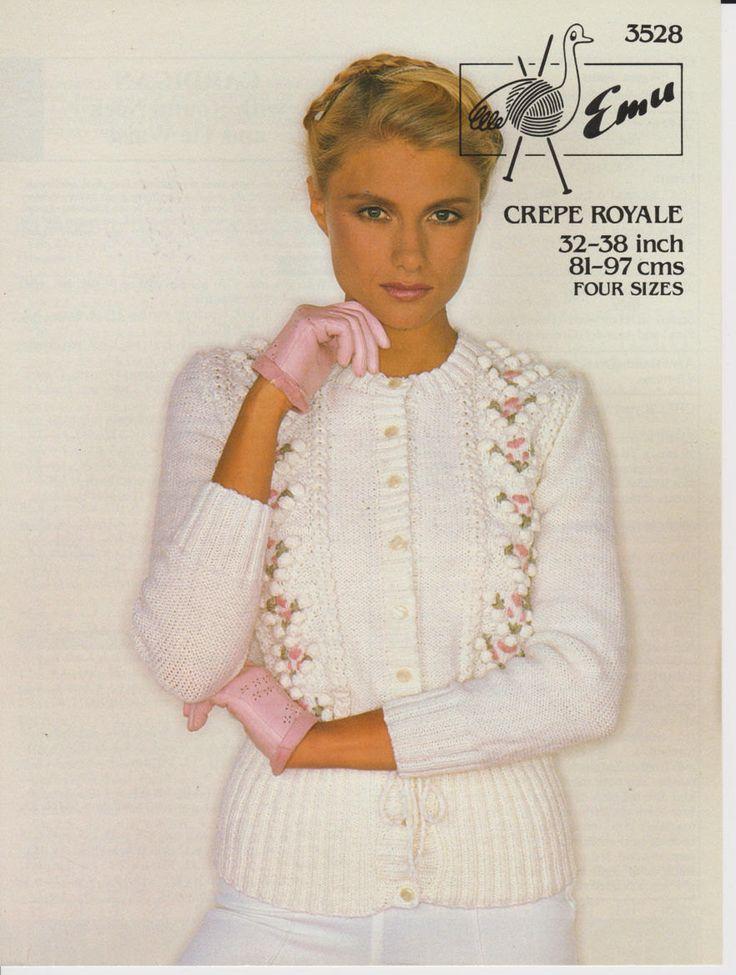 33 best vintage knitting patterns images on Pinterest   Vintage ...