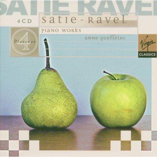 Ravel & Satie: Piano Works - Anne Queffelec (4 CD ($62.26)