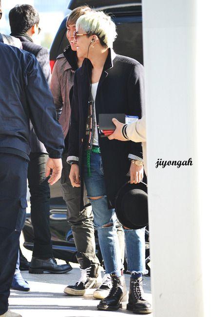 G-Dragon airport fashion 2012