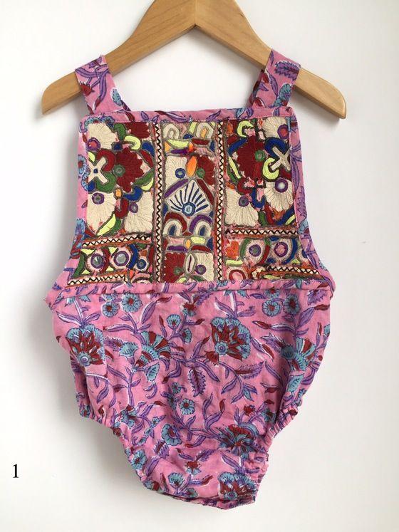 Image of Banjara Romper 18-24 Mo/2T Boho Kids Clothing, Bohemian Kids, Boho…