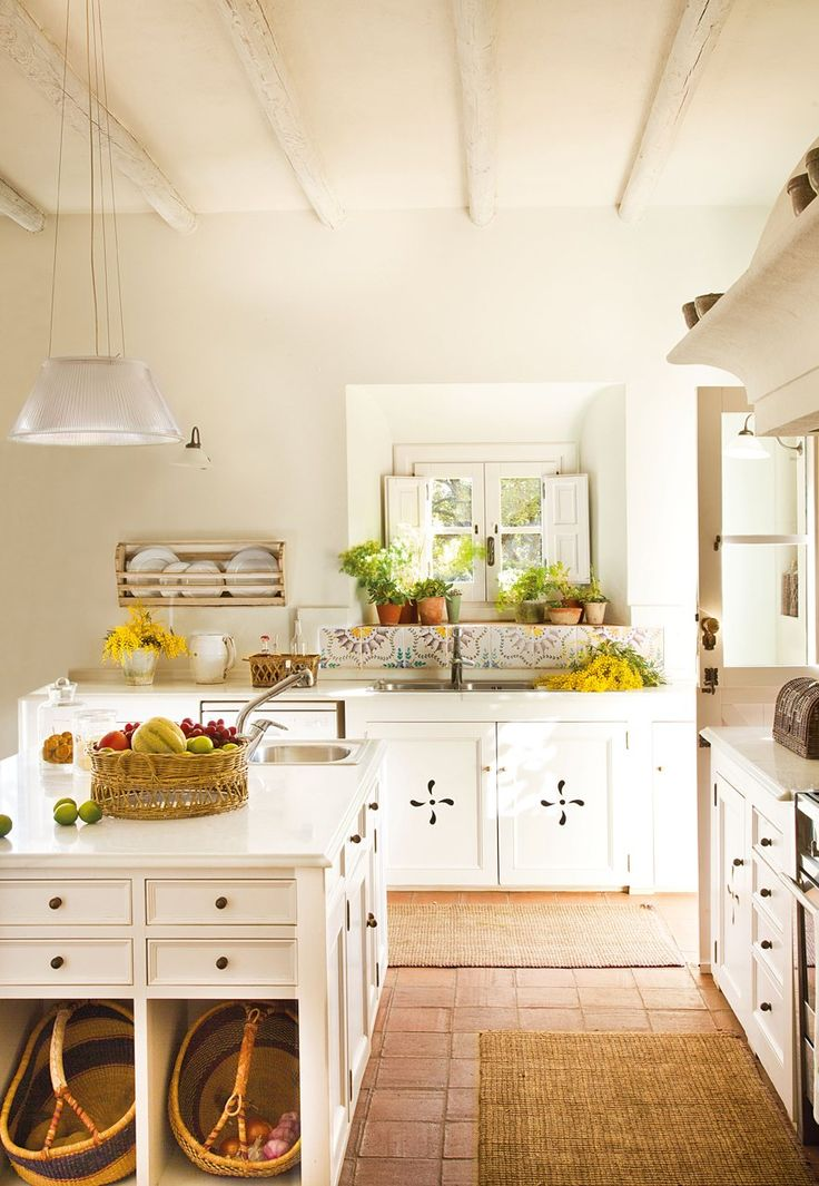 Baño Estilo Campestre:Country Farmhouse Style Kitchen Cabinets