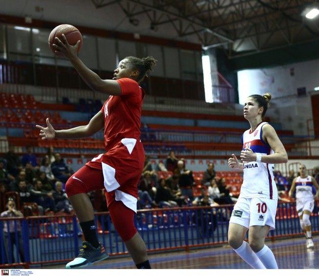Πρωτάθλημα Α1' Basket 2017-18. 9η Αγωνιστική. ΔΑΚ Γλυφάδας ''Μάκης Λιoύγκας''. 17/12/2017, Ολυμπιακός Σ.Φ.Π. - Αθηναϊκός ΑΣ Βύρωνα  101-42.