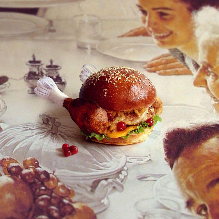 Thanksgiving Burger.  http://fatandfuriousburger.com/