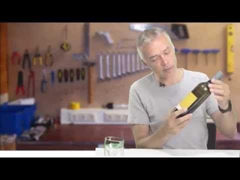 Een Fles Perfect Doormidden Snijden met de Kinkajou Flessensnijder wijnfles bierfles doorsnijden diy - YouTube