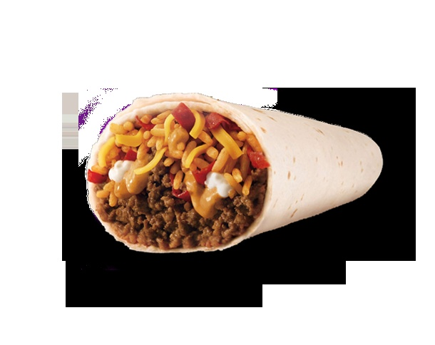 Taco Bell's Volcano Burrito is my absolute favorite fast food
