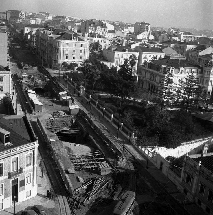 Metropolitano na Av. Fontes Pereira de Melo