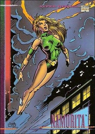 Pin By Justin Baker On Namorita Marvel Marvel Universe Marvel Cards
